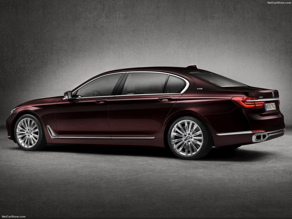 BMW M760Li xDrive cars sedan v12 2016 wallpaper