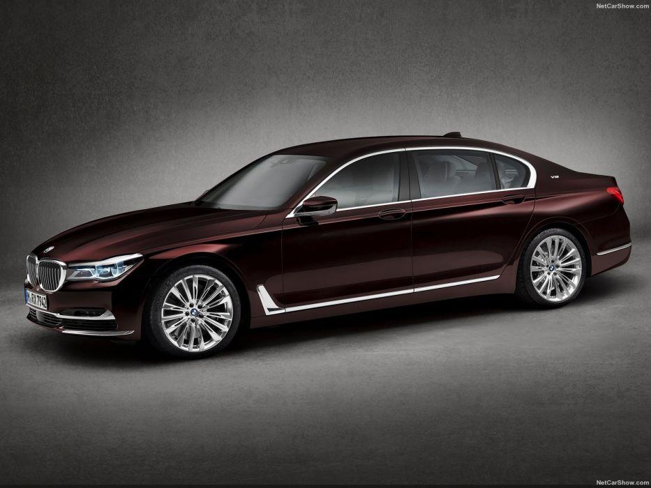 BMW M760Li xDrive cars sedan v12 2016 wallpaper
