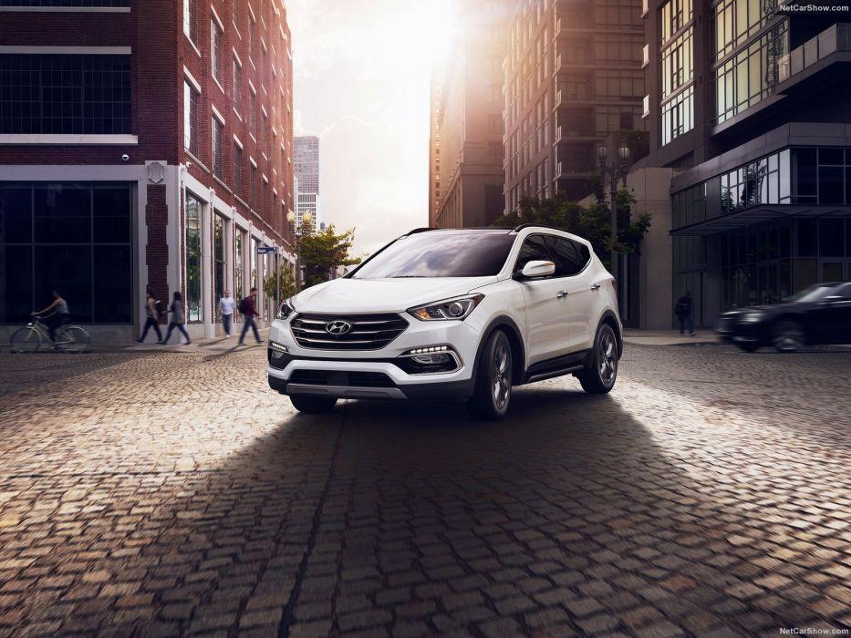 Hyundai Santa Fe cars suv 2016 wallpaper