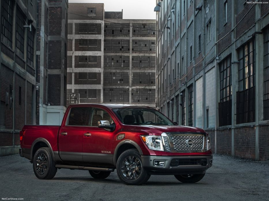 Nissan Titan cars pickup truck 2016 wallpaper