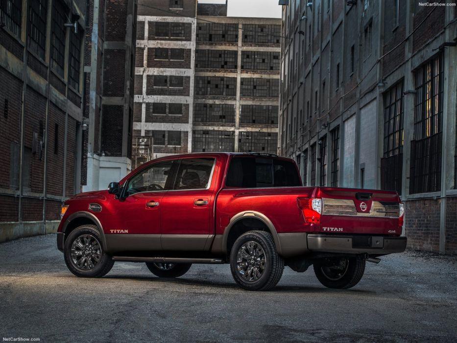Nissan Titan cars pickup truck 2016 wallpaper