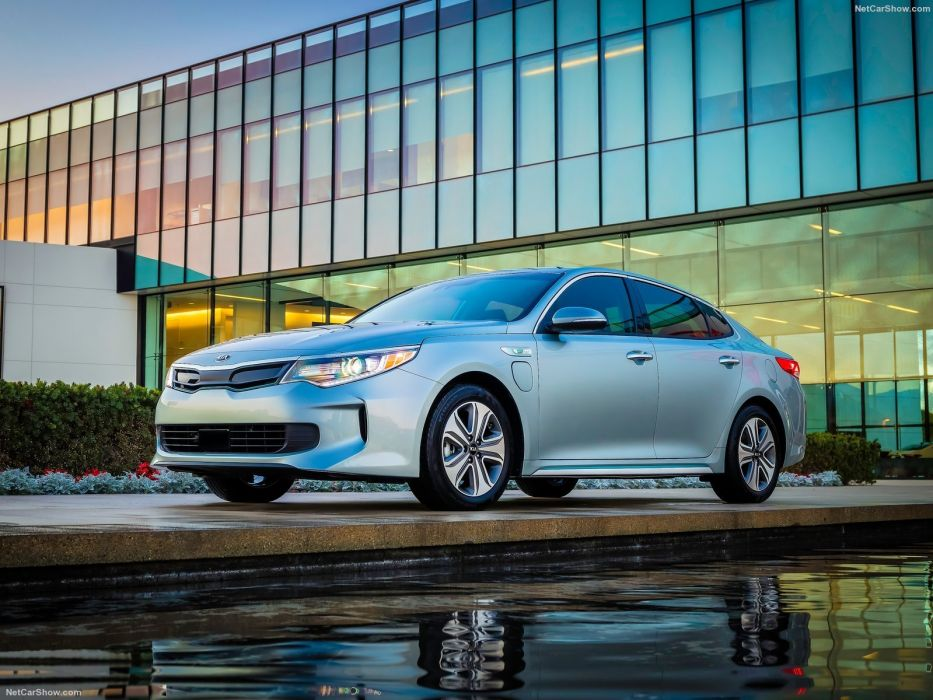 Kia Optima Hybrid cars Plug-In 2016 wallpaper