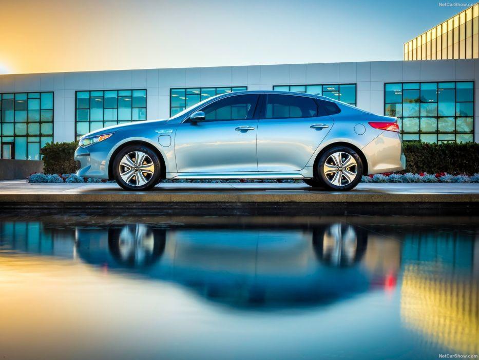 Kia Optima Hybrid cars Plug-In 2016 wallpaper