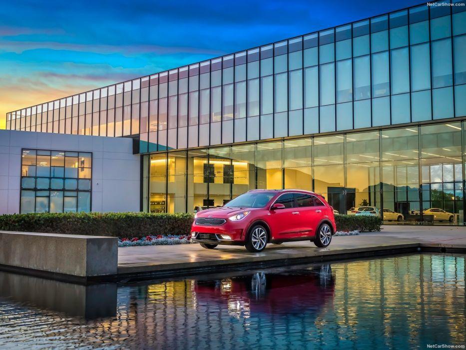 Kia Niro Hybrid cars suv 2016 wallpaper