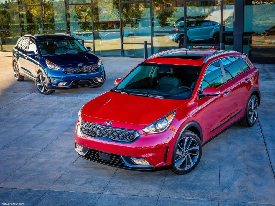 Kia Niro Hybrid cars suv 2016 wallpaper