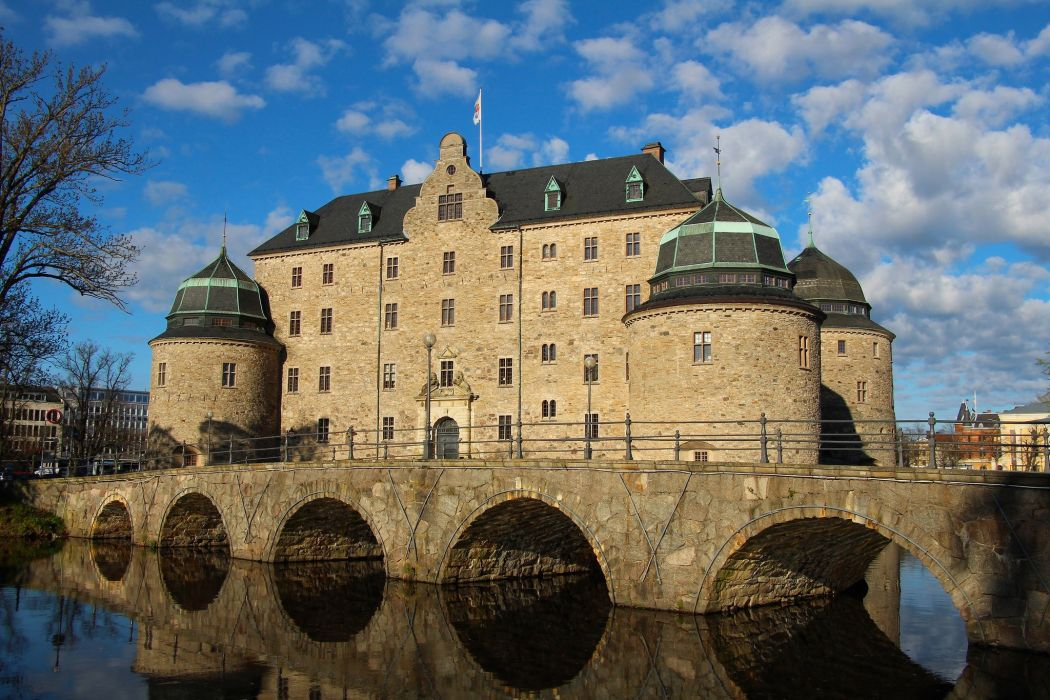 Bridges Sweden Castles Cities wallpaper