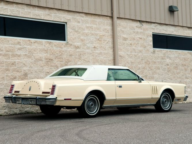 1979 Lincoln Continental Mark V Carriage Roof cars wallpaper