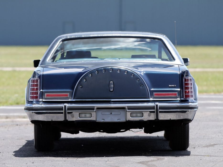 1979 Lincoln Continental Mark V Collectors Series cars wallpaper