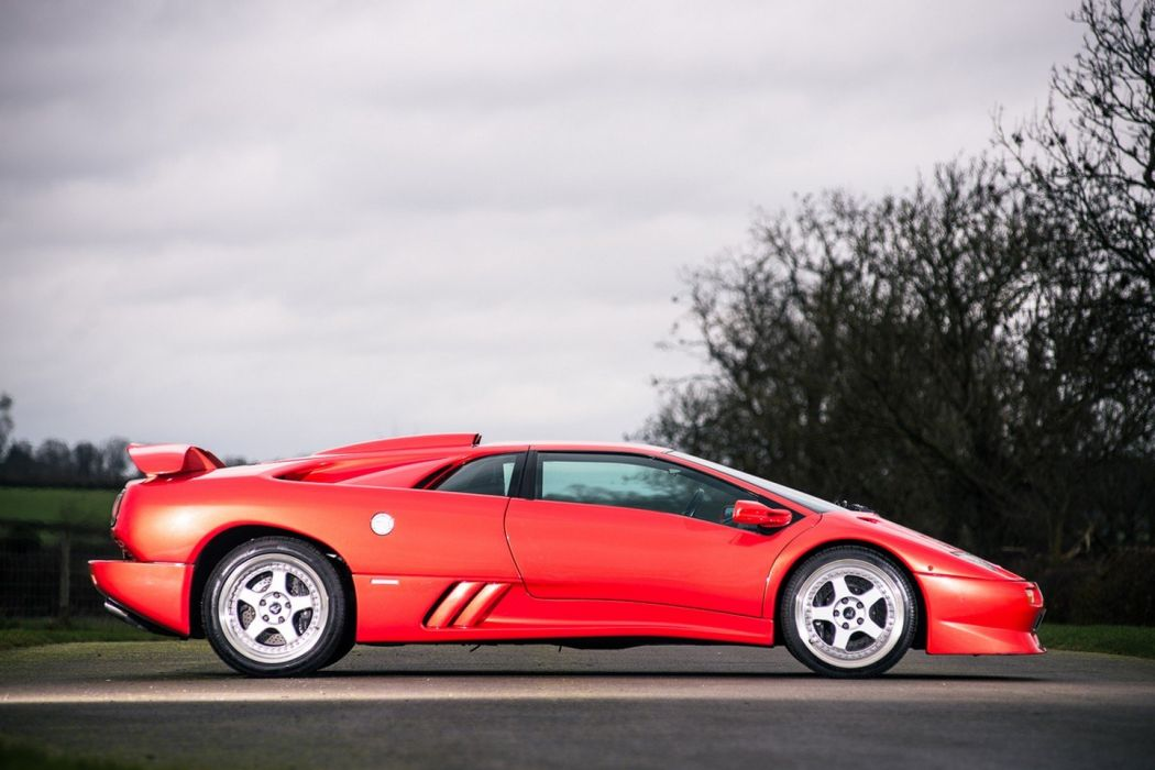 1999 Lamborghini Diablo SV cars supercars red wallpaper