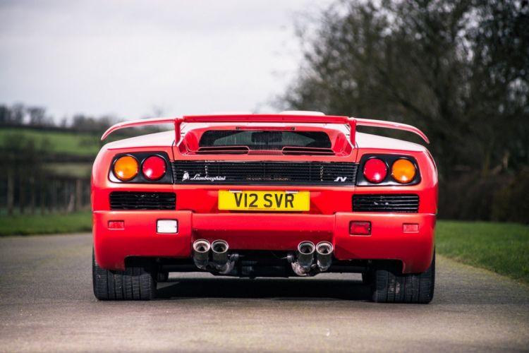 1999 Lamborghini Diablo SV cars supercars red wallpaper