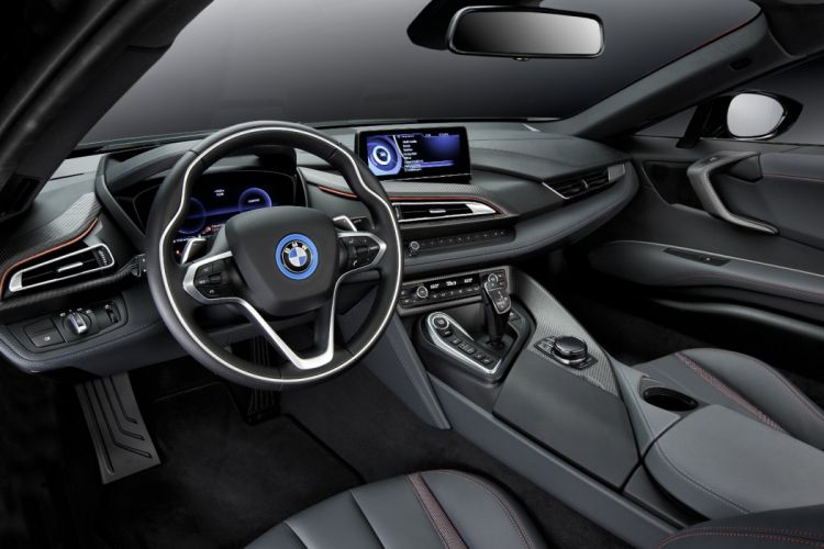 2016 BMW i8 Protonic Red Edition cars electric wallpaper