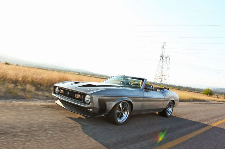 1971 Mustang Convertible ford cars modified wallpaper
