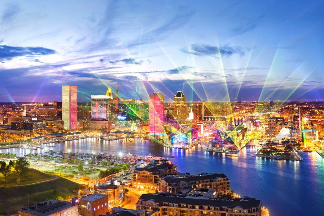 City Baltimore wallpaper