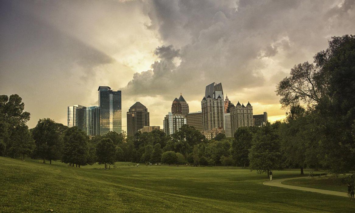 Downtown Atlanta wallpaper
