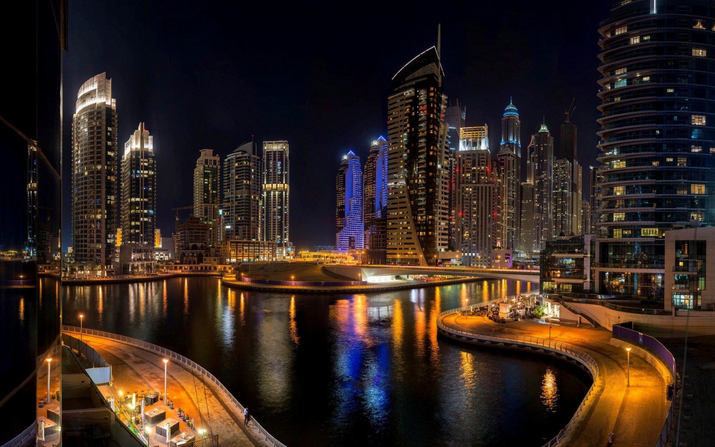 Dubai Marina HD Wallpapers Backgrounds Wallpaper