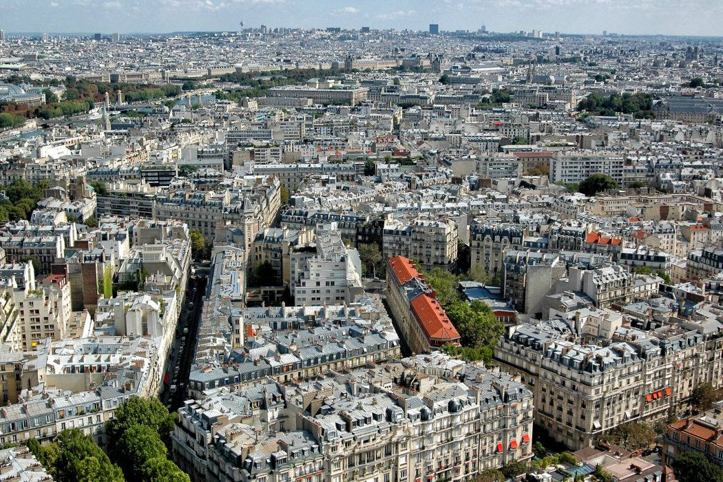 France Houses Paris From above Megapolis Cities wallpaper