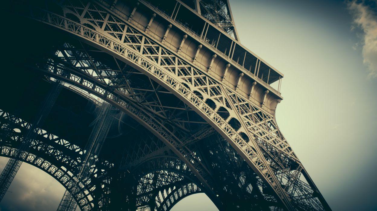 France Paris Eiffel Tower VSCO vscofilm Cities wallpaper