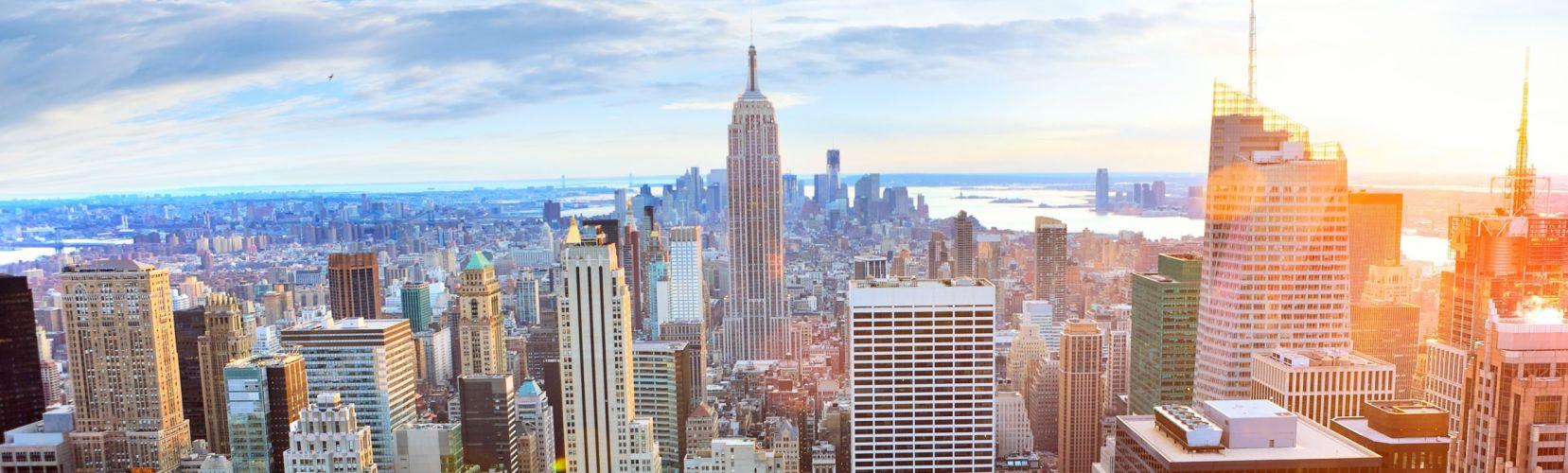 Empire State Building New York City Skyline wallpaper