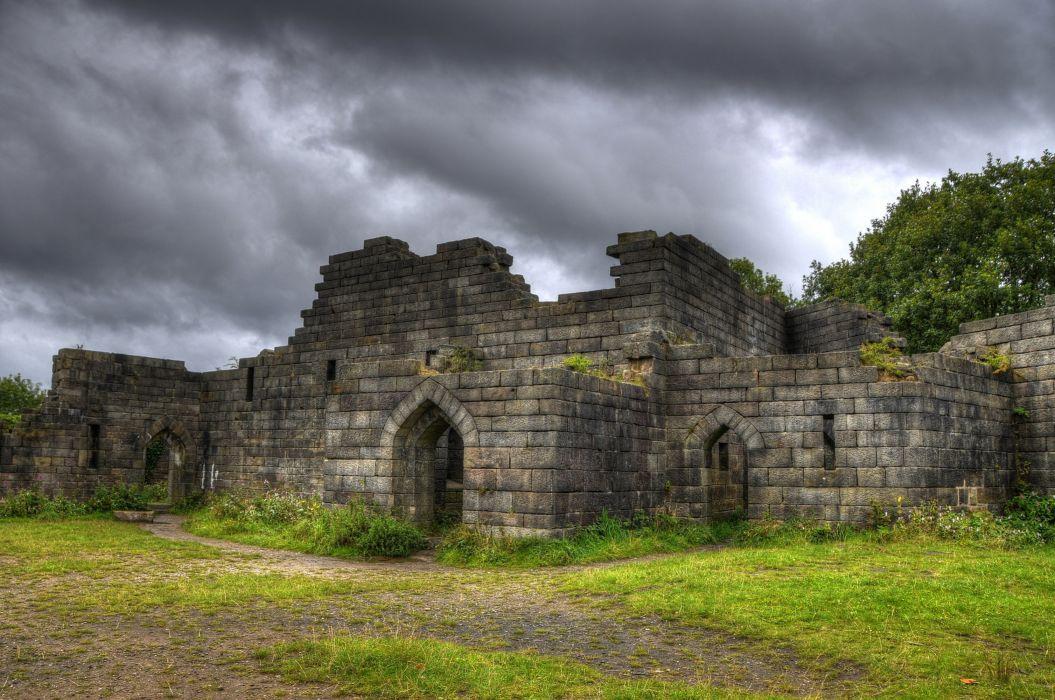 England Castles Ruins Liverpool Castle Cities wallpaper