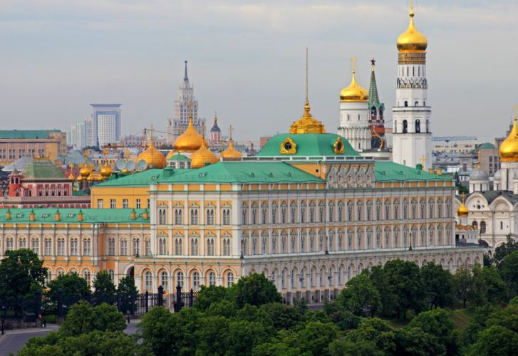Moscow Russia Houses Cities wallpaper