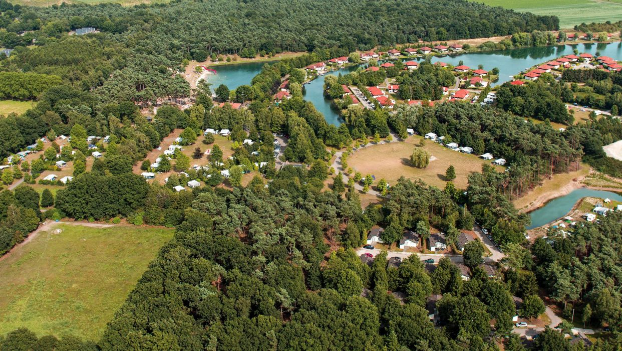 Netherlands Houses Rivers Trees From above Limburg Cities wallpaper