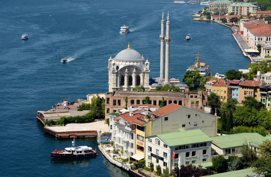Houses Turkey From above Istanbul Cities wallpaper