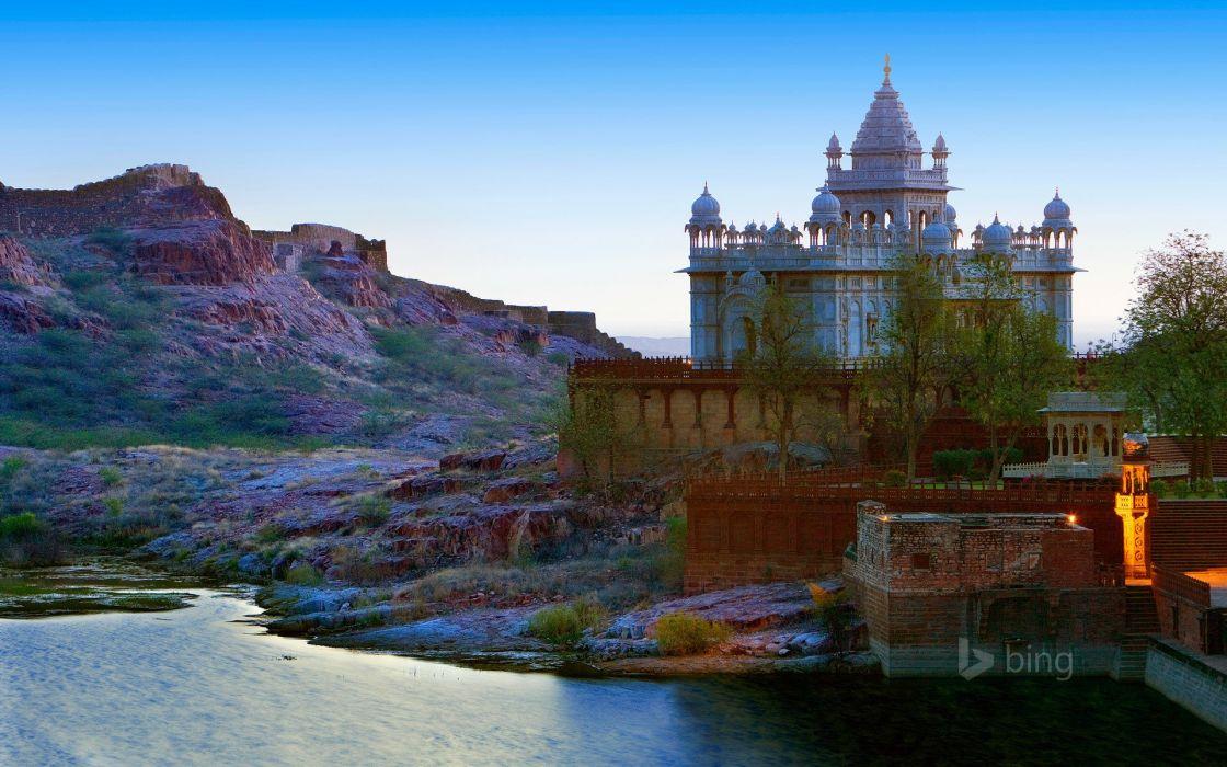 India Palace bing jaswant thada Jodhpur Cities wallpaper