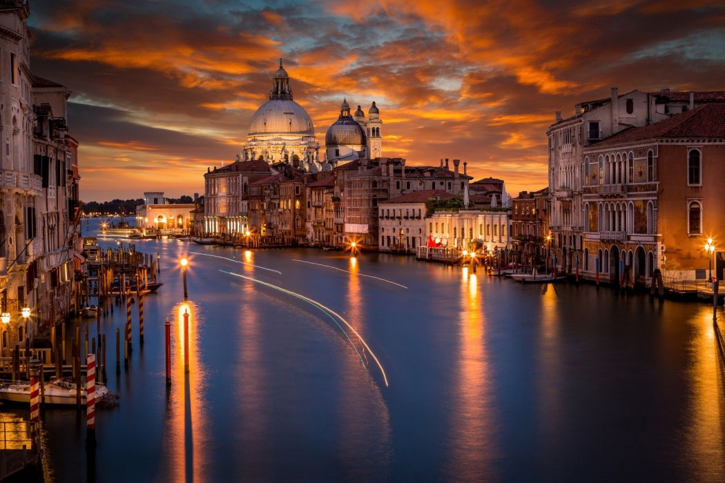 Italy Houses Venice Canal Cities g wallpaper