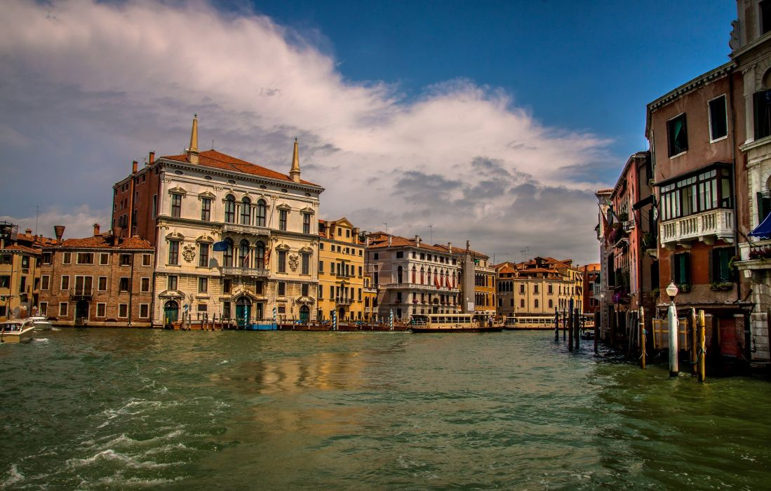 Italy Houses Venice Canal Cities t wallpaper