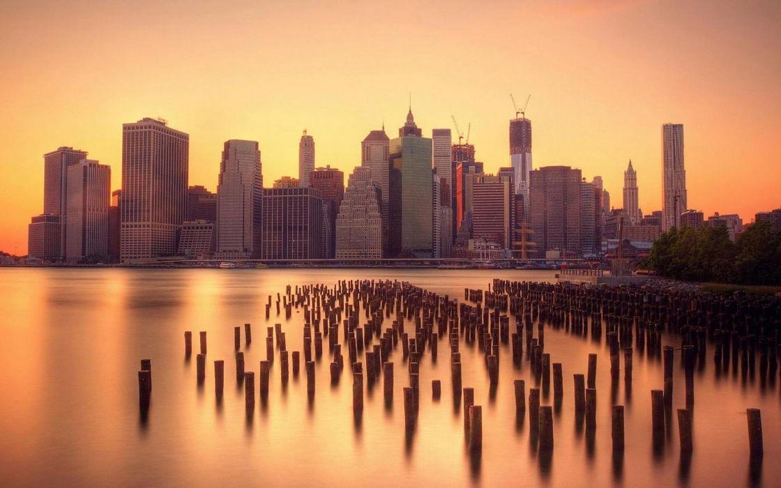 Manhattan New York City wallpaper