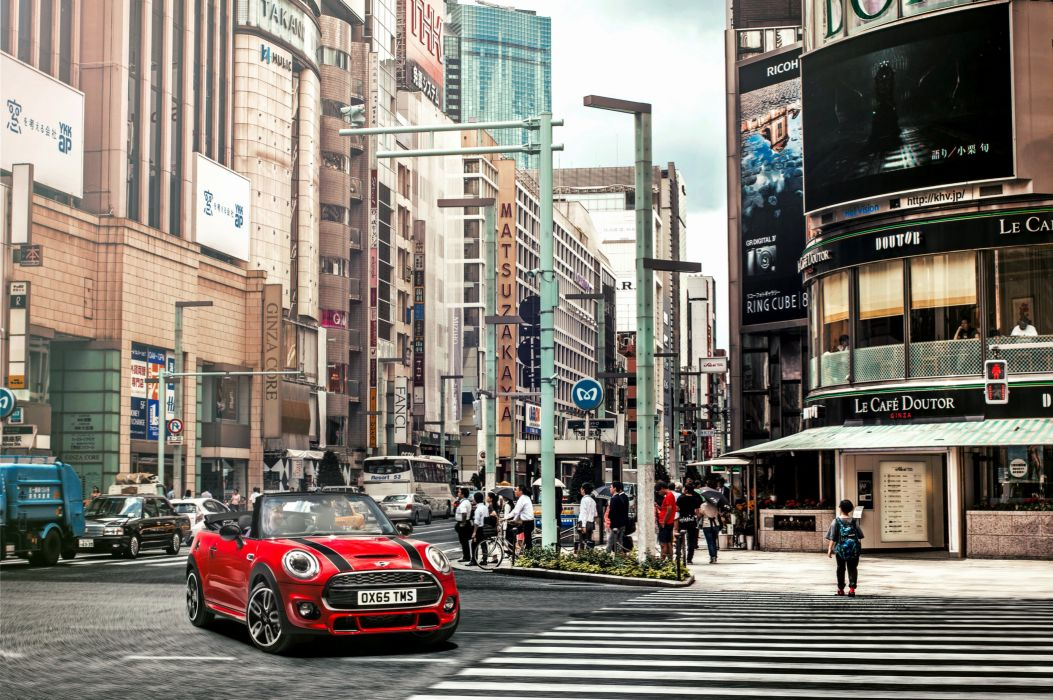 Mini Houses Street Cabriolet Cooper S Cabrio F57 Cars Cities wallpaper