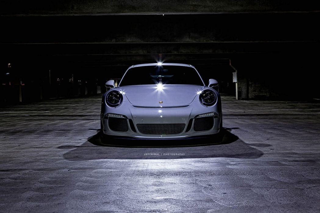 Porsche 991 GT3 HRE wheels wallpaper