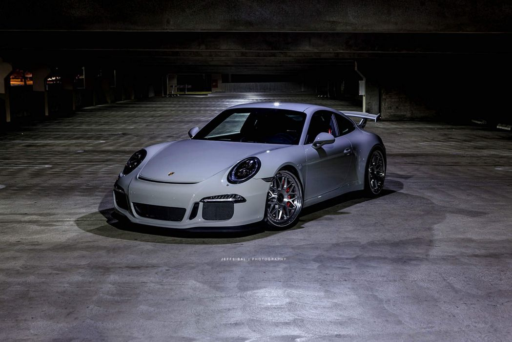 Porsche 991 GT3 HRE wheels wallpaper