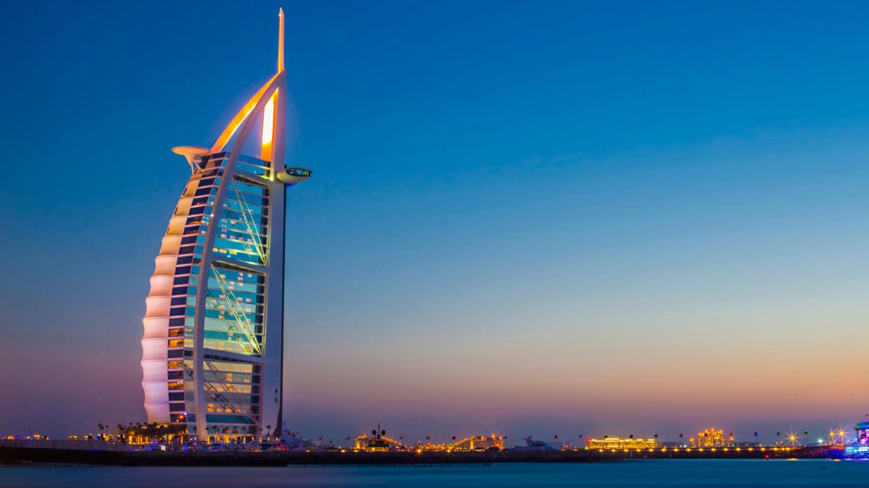 Dubai United Arab Emirates UAE Burj Al Ara wallpaper