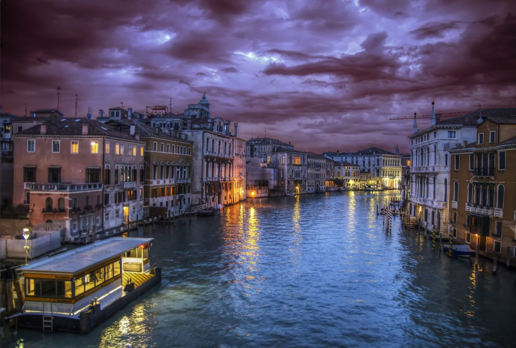 Italy Venice Grand Canal wallpaper