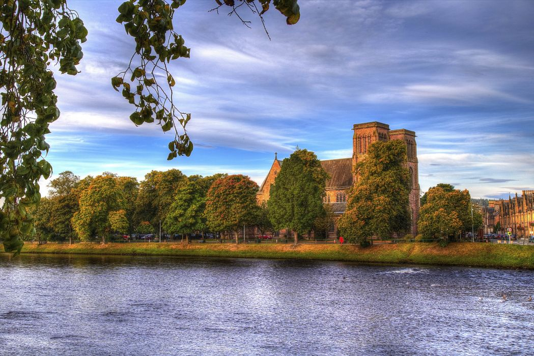 Inverness Cathedral Cathedral of the Episcopal Church of Scotland wallpaper