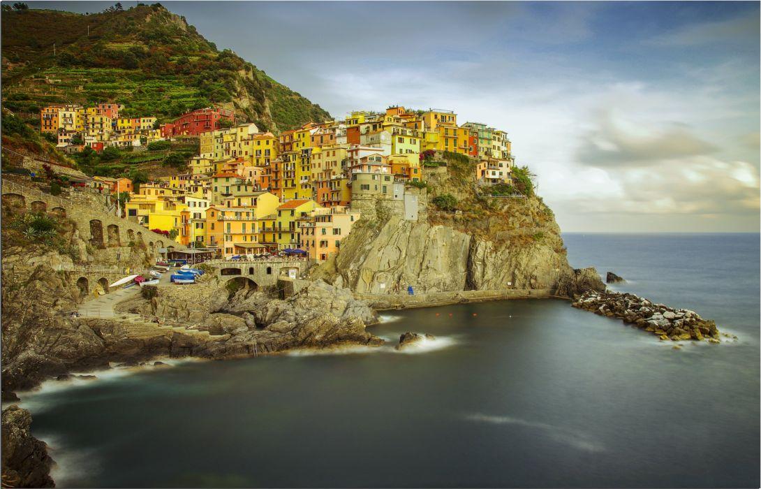 Manarola Cinque Terre Italy wallpaper