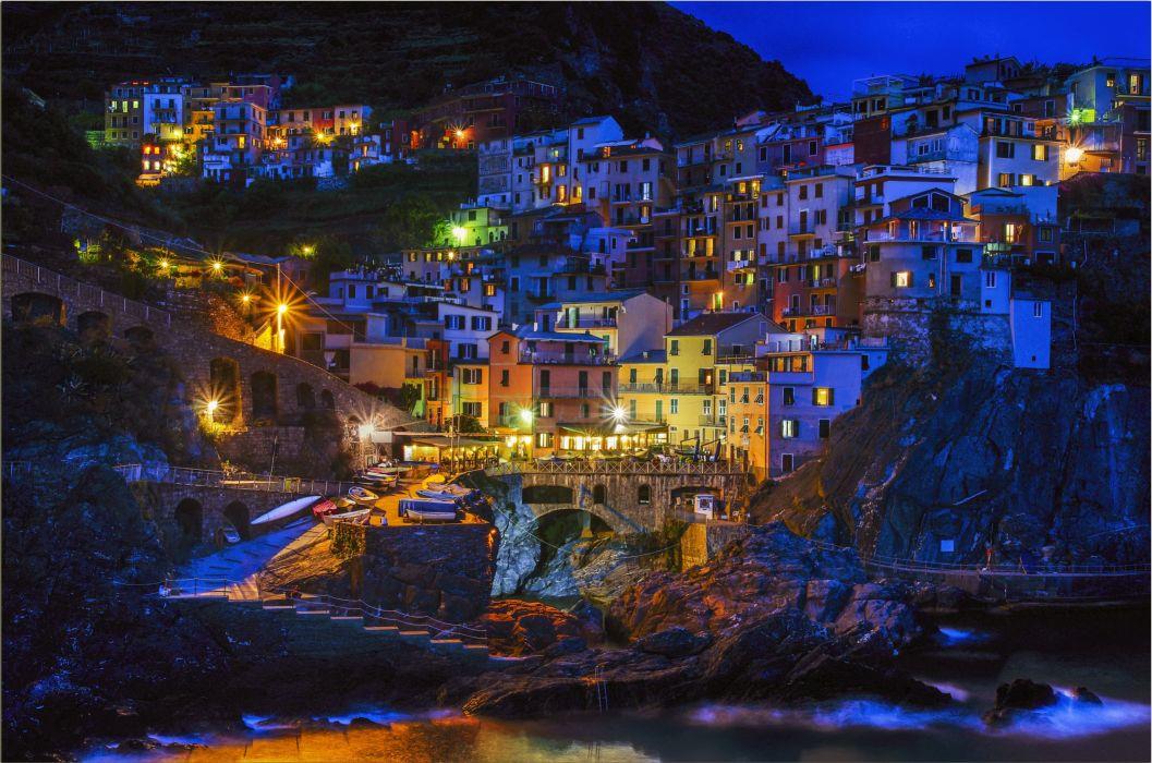 Manarola Cinque Terre Italy h wallpaper