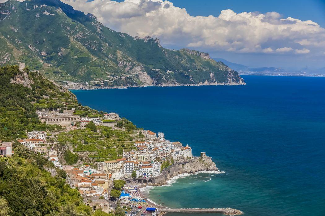 Amalfi Salerno Province italy wallpaper