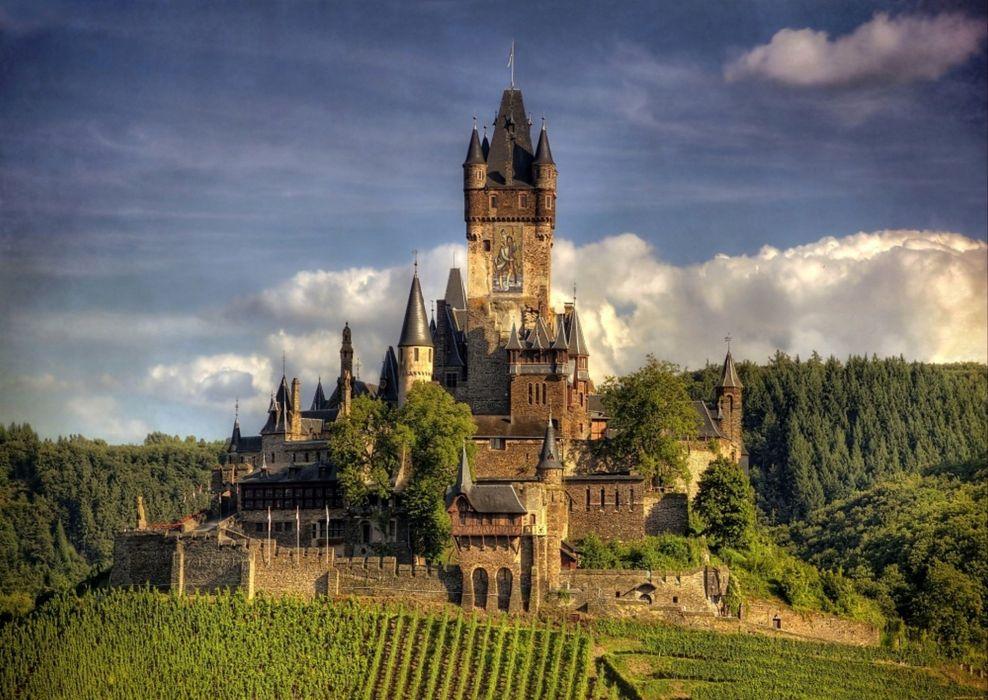 Reichsburg Germany Castle wallpaper