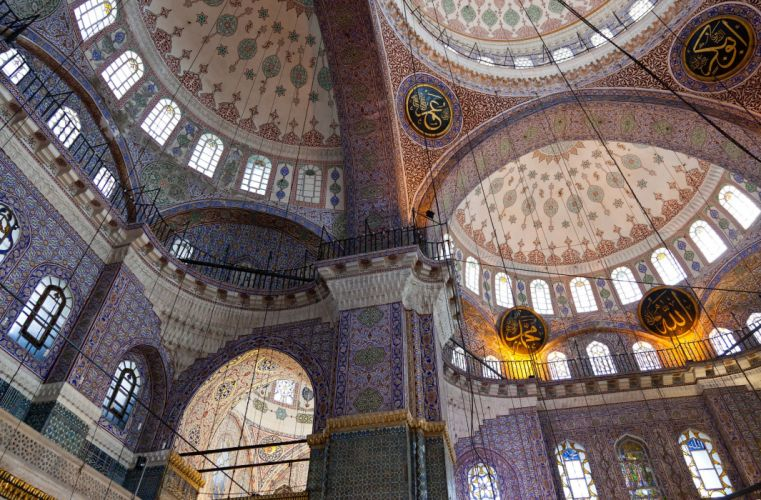 Religion Temples Istanbul Cities wallpaper