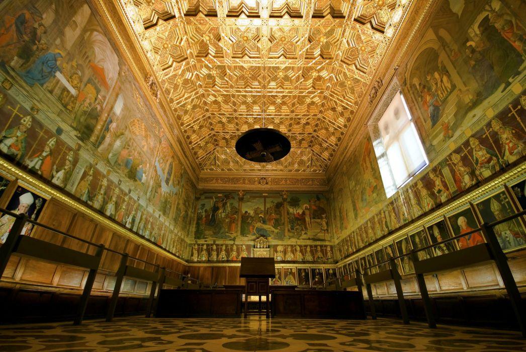 Spain Temples Ceiling Toledo Cities wallpaper