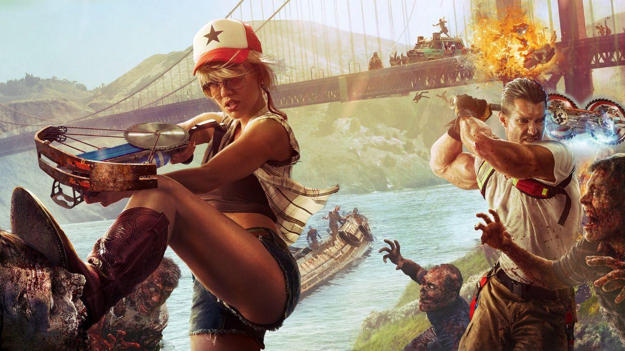 dead island 2 video juego aventuras accion wallpaper