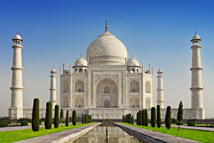 Temples India Taj Mahal Agra Uttar Cities wallpaper