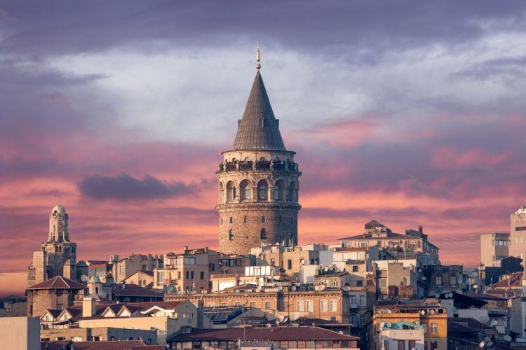 Turkey Houses Sky Istanbul Cities wallpaper