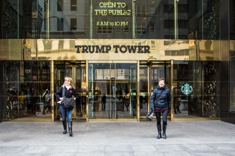 Trump International Hotel & Tower New York is a luxury hotel in NYC wallpaper