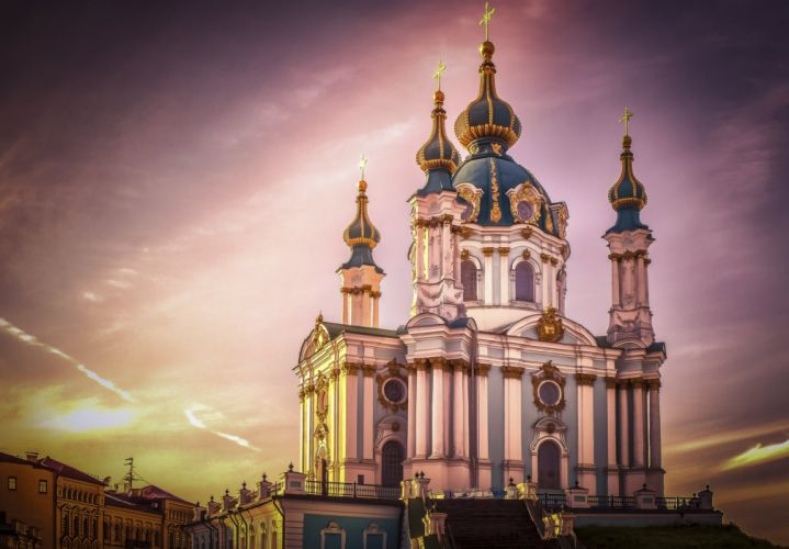 Ukraine Temples Religion Kiev Cities wallpaper