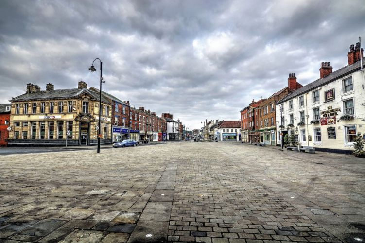 United Kingdom Houses Street Selby North Yorkshire Cities wallpaper