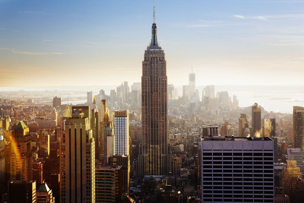 USA NY NYC New York City United States Of America Empire State Building Wallpaper