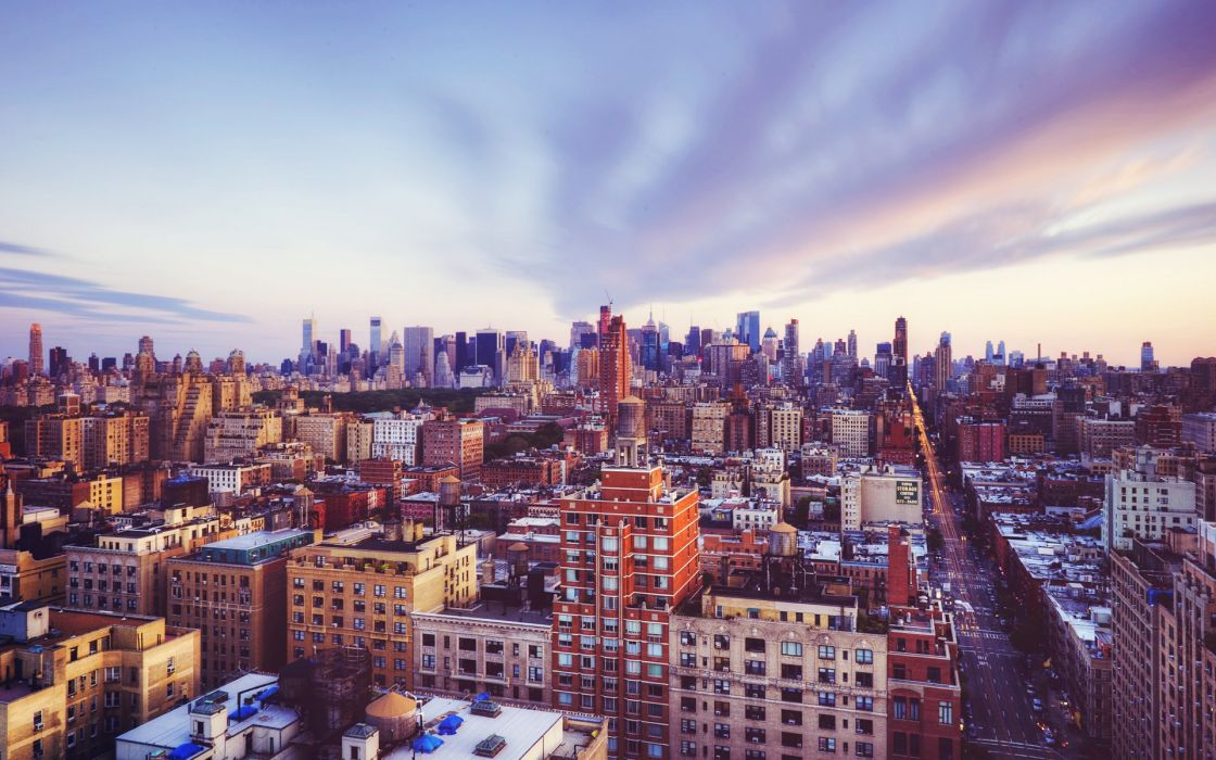 USA Houses New York City Cities wallpaper